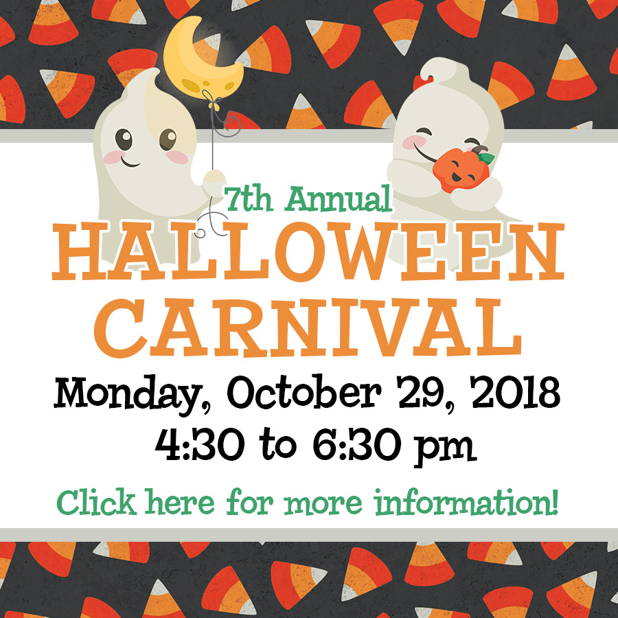 7th Annual Halloween Carnival Flyer